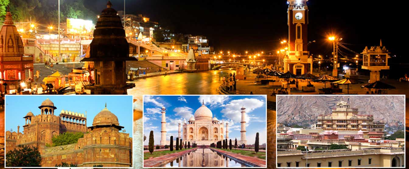 golden triangle with haridwar and rishikesh tour packages