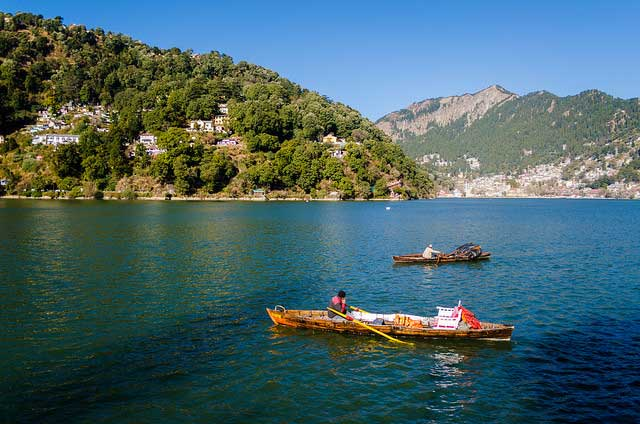 nainital lake tour packages with private car and driver rental services